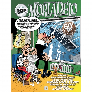 Top Cómic Mortadelo Nº 65. El Capo Se Escapa. IBAÑEZ, FRANCISCO