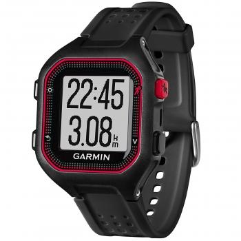 46afc007a3a8 Reloj Deportivo Garmin Forerunner 25 - Negro Rojo