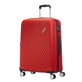 Trolley ABS Visby 67Cm Energetic Red TSA