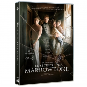 El Secreto de Marrowbone. DVD