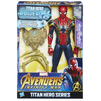 Hasbro - Titan y Mochila Power FX Spider Man