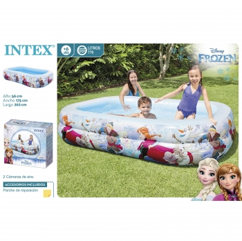 Intex Center Natacion Frozen