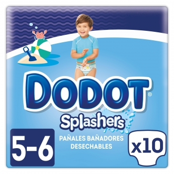 4eb13b674 Pañales Bañador Dodot Splasher Talla 5 (12-15 kg) 10 uds