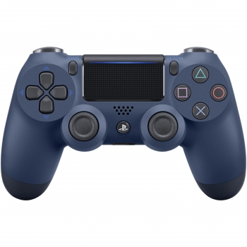 Mando inalámbrico Dualshock Midnight Blue V2 para PS4