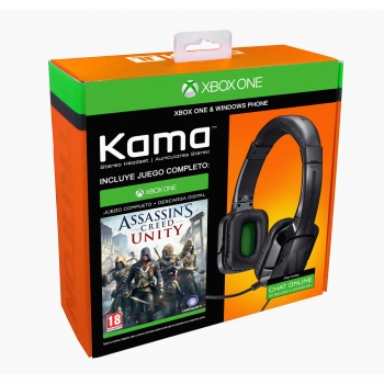Auricular Tritton Kama Stereo + Assassin's Creed Unity para Xbox One