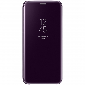 Funda Samsung Clear View Standing Cover para Galaxy S9 - Violeta