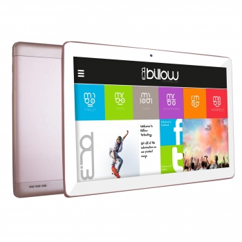 "Tablet Billow X104P con Quad Core, 1GB, 16GB, 25,65 cm - 10,1"" - Rosa"