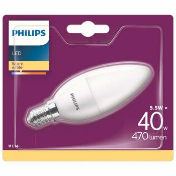 Bombilla Led Vela Philips 40W E14