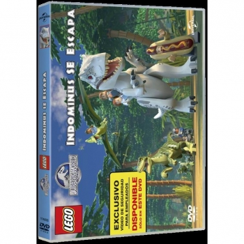 Lego Jurassic World : The Indominus Escape DVD