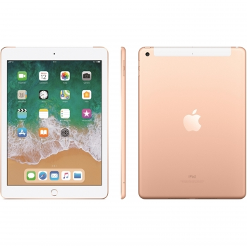 "iPad 2018 24,63 cm - 9,7"" con Wi-Fi y Cellular 128GB Apple - Oro"