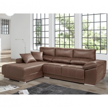 Chaisseloungue LIVING SOFA Izquierdo 265 - Choco