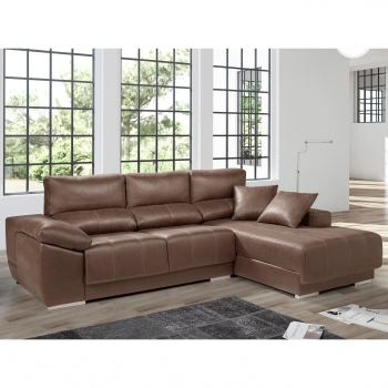 Chaisseloungue LIVING SOFA Derecho 265 -Choco