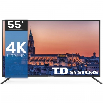 TV LED 139,7 cm (55'') TD Systems, UHD 4K