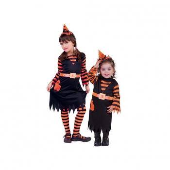 245b5e3dd7b2c Disfraz de Witchy Patch Naranja Infantil Talla L de 8 a 10 años