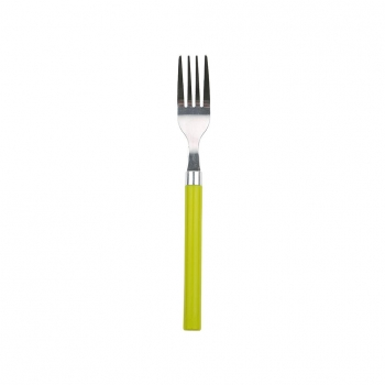 Tenedor de Acero Inoxidable RENBERG Happie Green  - Verde