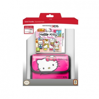 Hello Kitty Happy Family con Funda para 3DS