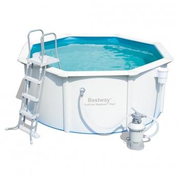 Piscinas desmontables baratas en for Filtro piscina carrefour