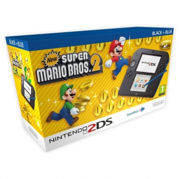 2DS Azul con New Super Mario Bros 2 (Preinstalado)