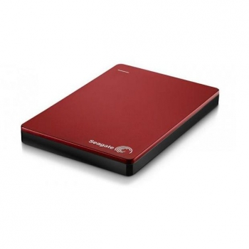 "Disco Duro Externo Seagate HD Externo 2,5"" Backup Plus SLIM 2TB - Rojo"