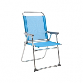 Sillas plegables para playa y camping en oferta for Sillon cama carrefour