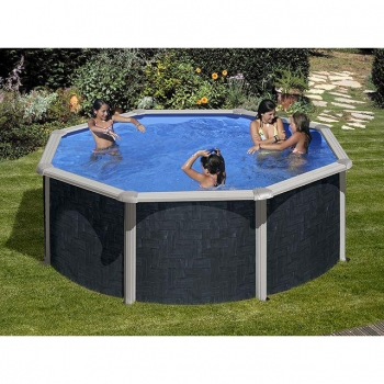 Piscinas desmontables baratas en for Suelo piscina carrefour