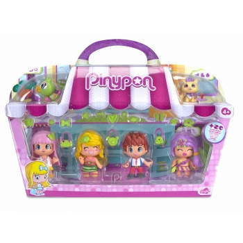 Pin y Pon - Pack 4 Figuras City