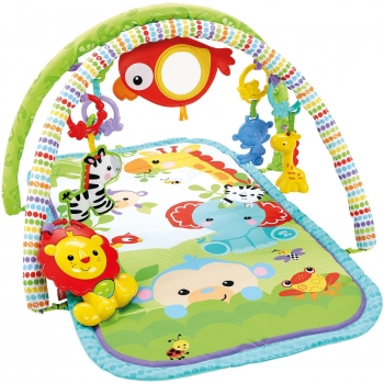 Fisher-Price - Gimnasio Musical Animalitos de La Selva