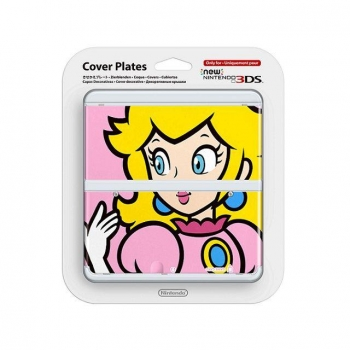 CARCASA PEACH NEW 3DS. Accesorios 3DS. Outlet. Producto Reacondicionado