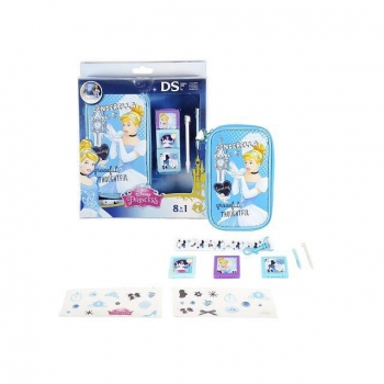 KIT 8 COMPONENTES CENICIENTA. Accesorios DS