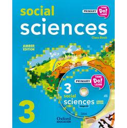 Think Do Learn Social Science 3rd Primary Student's Book + CD Pack Amber