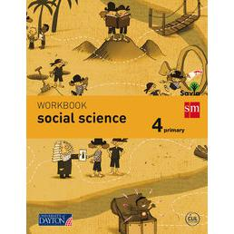 Social Science. 4 Primary. Savia. Workbook