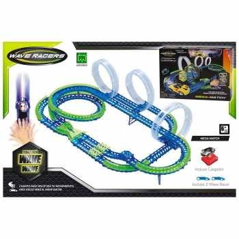 Color Baby - Wave Racers Circuito Mega Match con 2 Coches