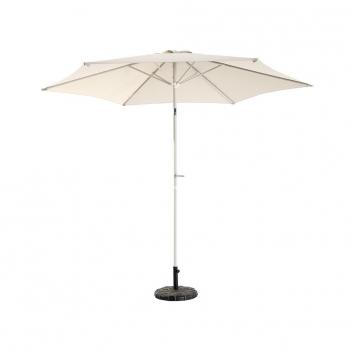 parasol aluminio 3 m crudo - Sombrillas Jardin