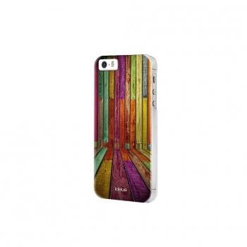 "Carcasa Ideus con relieve 3D ""Madera"" para iPhone 5"
