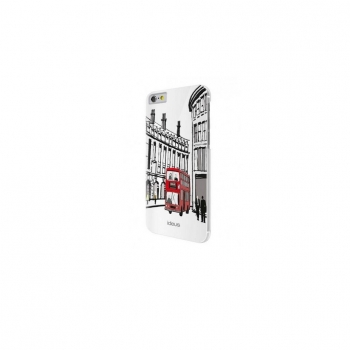 Carcasa Ideus Londres Relieve 3D para Iphone 6 Plus