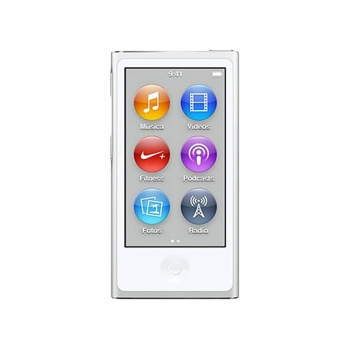 iPod Nano de 16GB Apple - Blanco y Plata