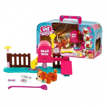 Little Live Pets - Mailbox Playset con 1 Cachorro Pet Parade