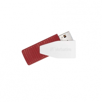 Memoria USB Verbatim Swivel 16GB - Rojo