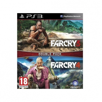 Double Pack Far Cry 3 con Far Cry 4 para PS3