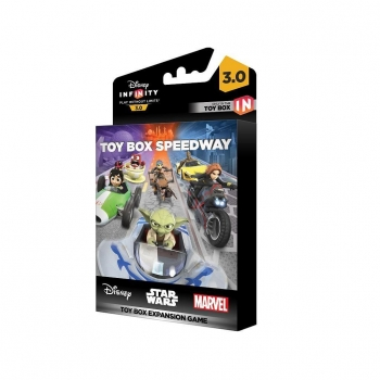 Disney Infinity 3.0 Toy Box Game Piece Speedway para videojuegos compatibles