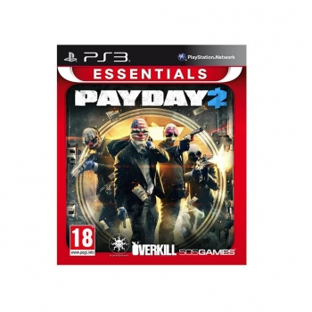 JUEGO PS3 PAYDAY 2 ESSENTIALS. Outlet. Producto Reacondicionado