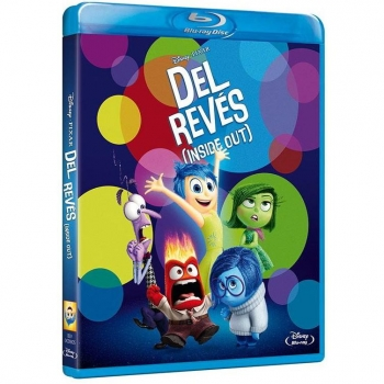 Del Revés (Inside Out) - Blu Ray