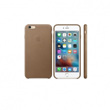 Funda de Piel para Iphone 6 Plus s - Marrón