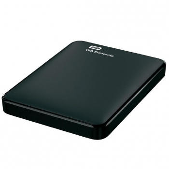 Disco Duro Externo HDD Western Digital Elements 3TB - Negro
