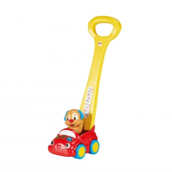 Fisher-Price - Coche Interactivo de Perrito