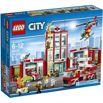 LEGO City Fire - Estación de Bomberos