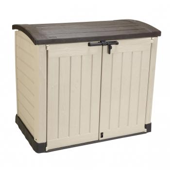 armarios casetas de madera y arcones para jard n carrefour. Black Bedroom Furniture Sets. Home Design Ideas