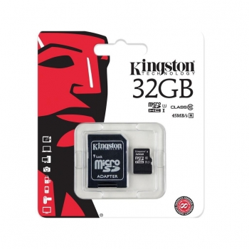Tarjeta de Memoria KiNGSton Micro SD 32GB