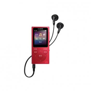 Reproductor MP4 Sony 8GB NWE394R - Rojo