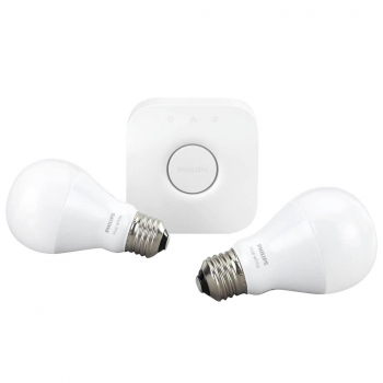 Philips Huewhite Kit LED inteligente 9.5W A60 E27 Iluminación blanca